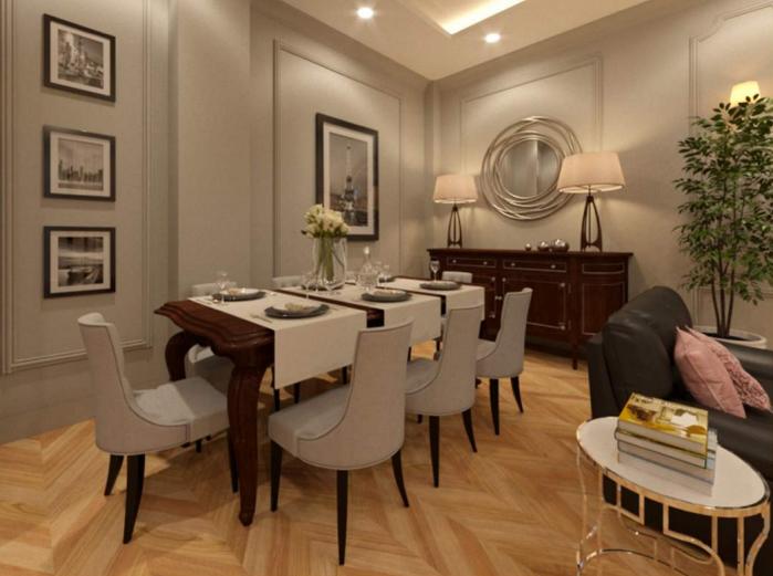 salone classico moderno