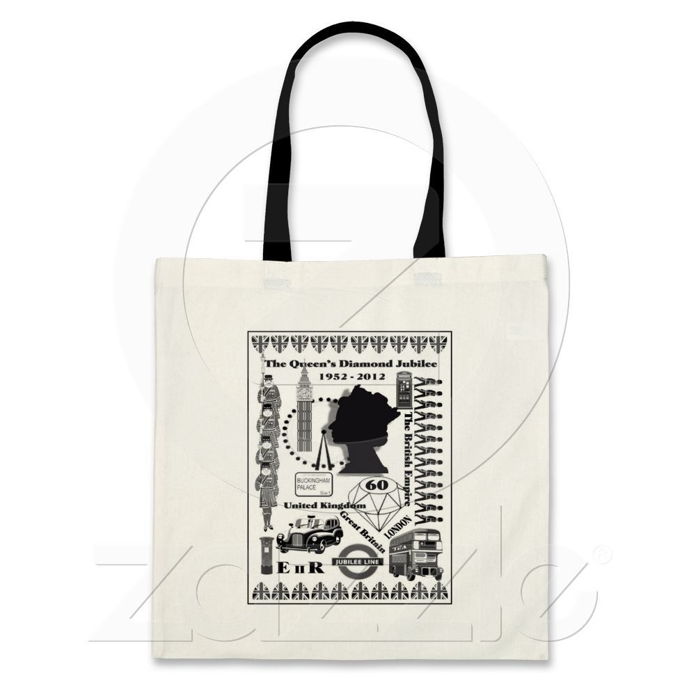 The Queens Diamond Jubilee Tote Bag