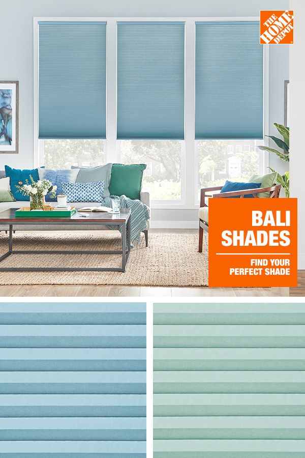 Complement your home decor with window treatments from The