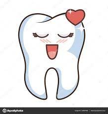 Image Result For Kawaii Teeth Diente Dibujo Dientes Dibujos