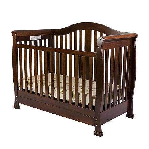 Dream On Me Addison 4 In 1 Convertible Crib With Toddler Rail S Espresso Dreamonme Convertible Crib Dream On Me Cribs