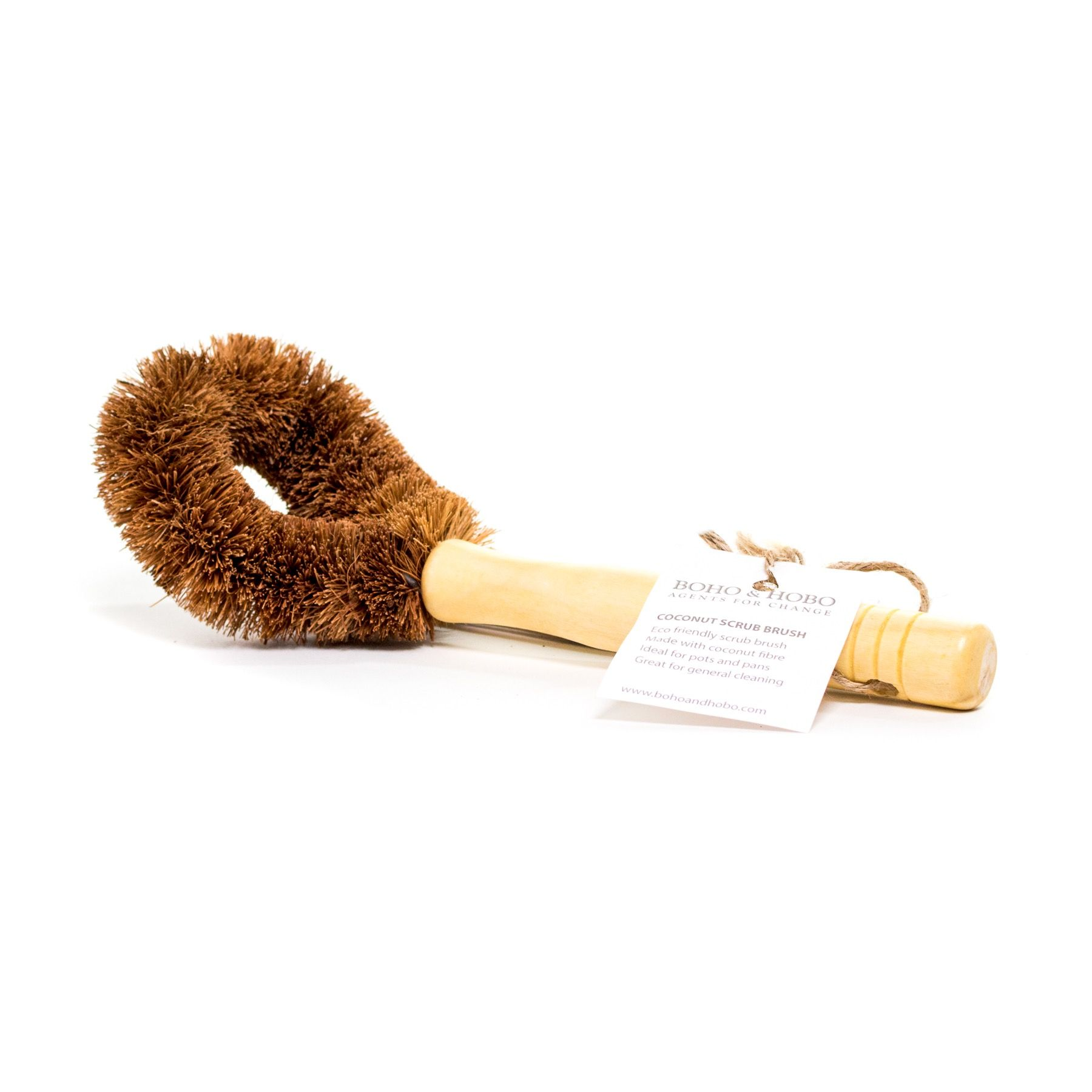 Eco friendly Coconut Scrub Brush is a game changer in the