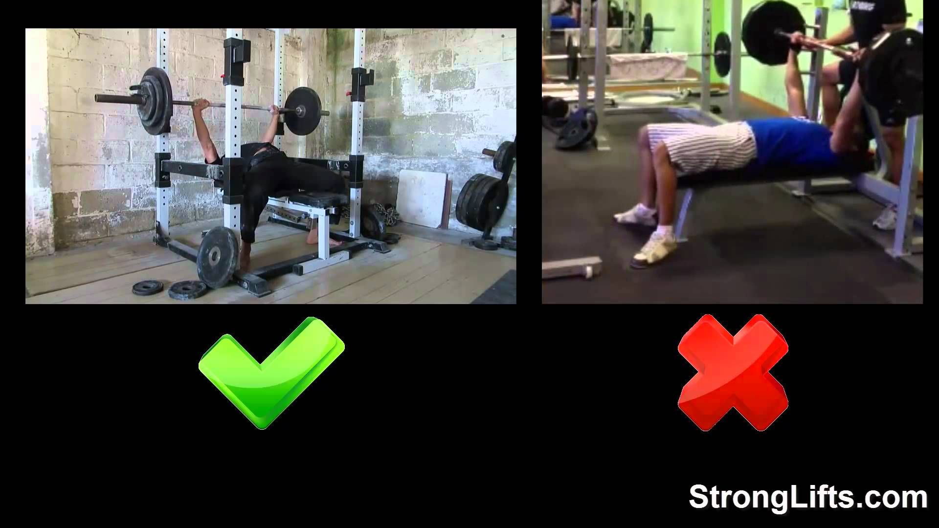 How To Bench Press With Proper Form Stronglifts 5x5 Bench Press Bench Press Form Stronglifts