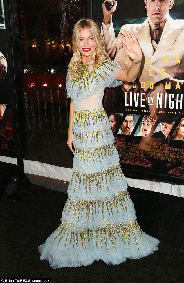 Sienna Miller Gets Cosy With Ben Affleck At Live By Night Premiere
