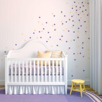 Confetti Dots Wall Decal Nursery Ideas Polka Dot Wall Decals