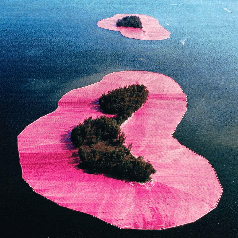 Christo y Jeanne Claude, amor y arte