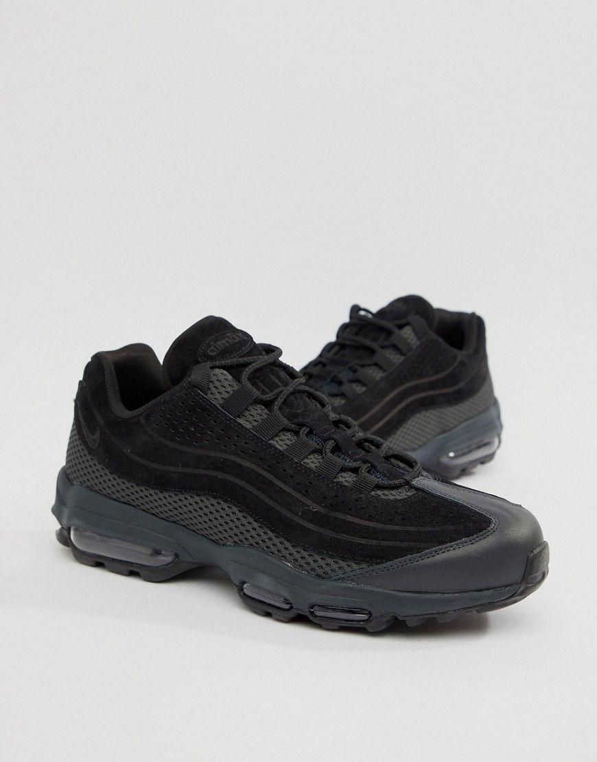 0e5cb8f39f3c Herren Nike Air Max 95 Ultra Premium e Sneaker | 823229895963 ...