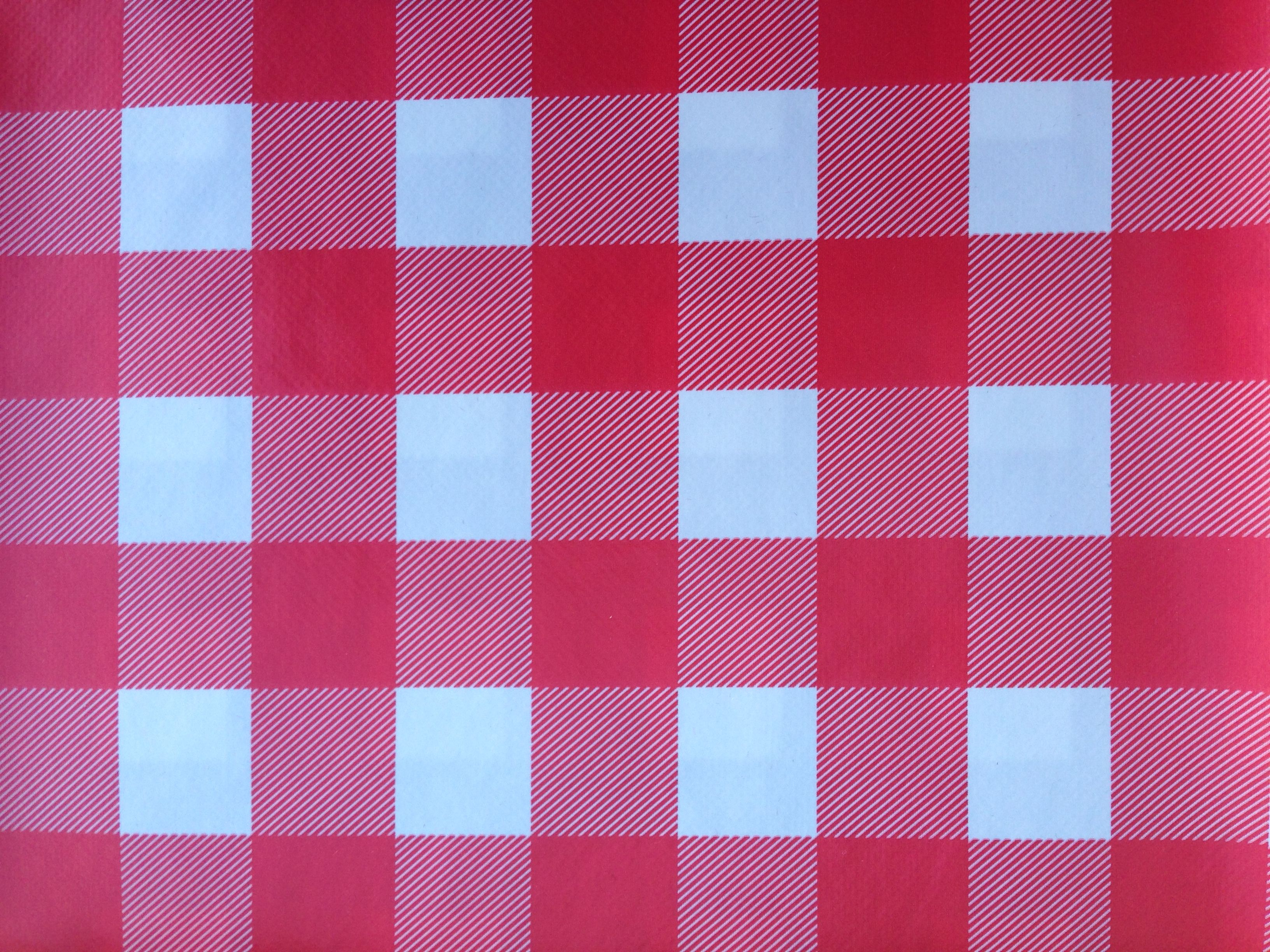 Red gingham pvc table cloth. mesas pinterest red gingham