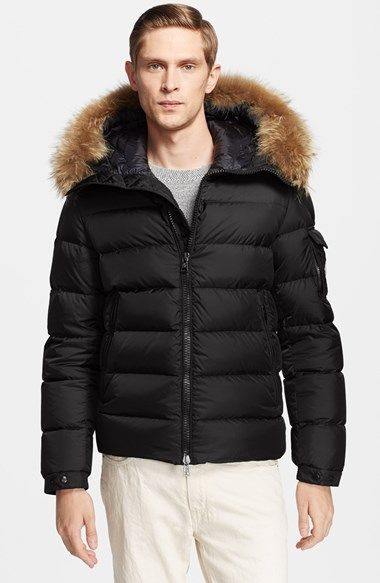 f7afd39cf6c3 Moncler  Byron  Down Jacket with Fur Trimmed Hood available at ...