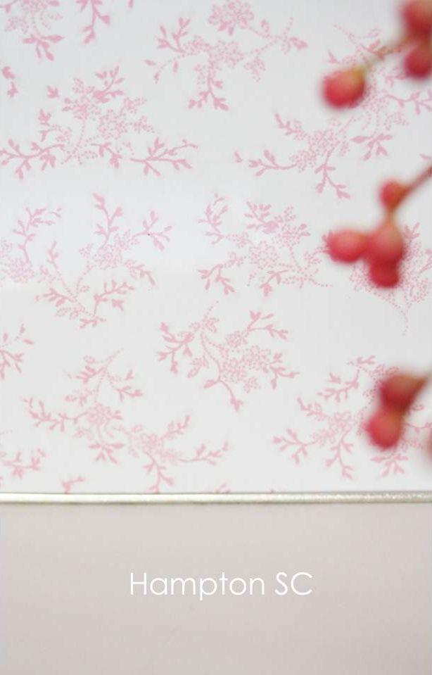 Pink Toile de Jouy