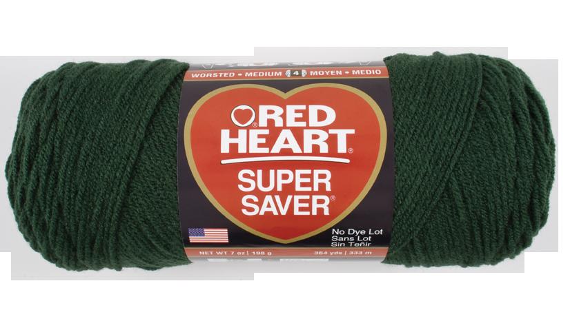 Dark Sage Super Saver Economy Yarn Red Heart Supply Closet