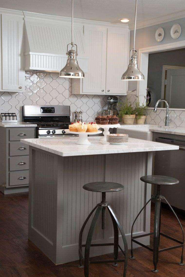 Cucina Piccola Con Isola Nel 2018 Arredamento Idee Cucine