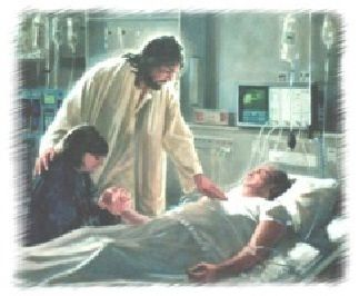 Jesus in Hospital | Prayers for the dying, Prayer for the sick ...
