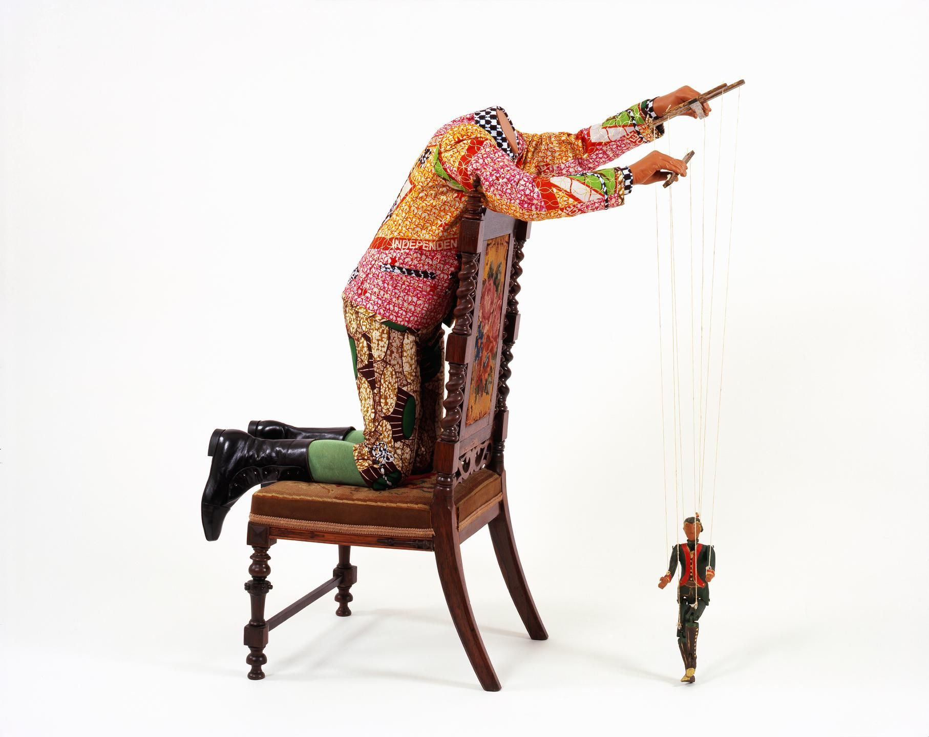 Yinka Shonibare Boy with Marionette