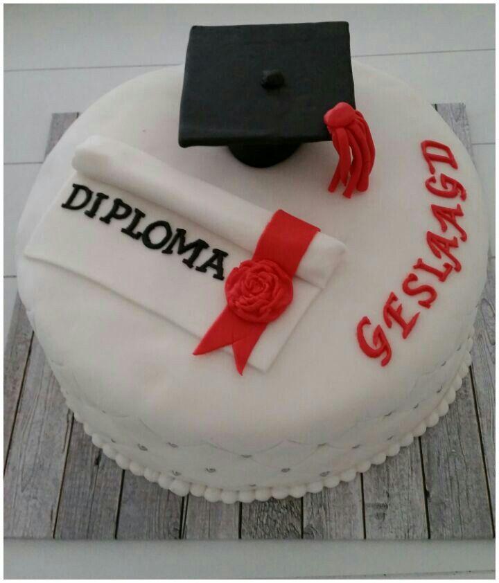 taart geslaagd geslaagd taart | graduation | Pinterest | Fondant cakes, Cake and Food taart geslaagd