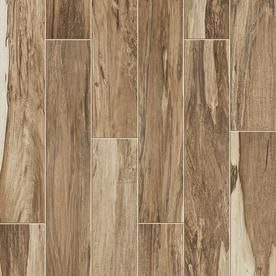 Style Selections Brazilian Pecan 8 Pack Natural Wood Look