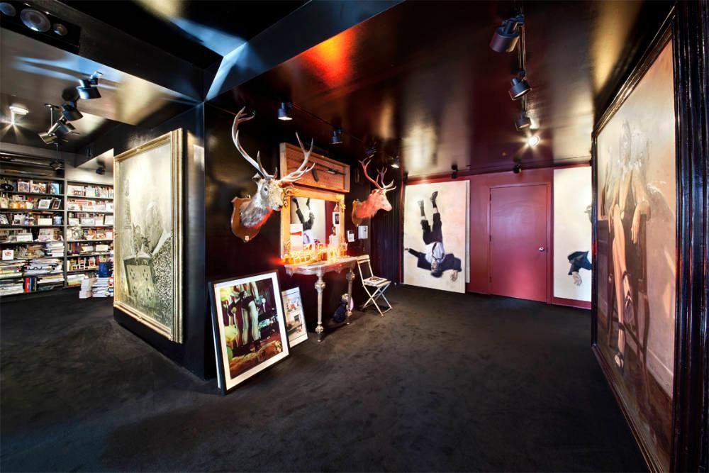213 23rd Street The Black Apartment Stefan Boublil Designed To Look Like Shanghai Nightclub Cindy Gallop