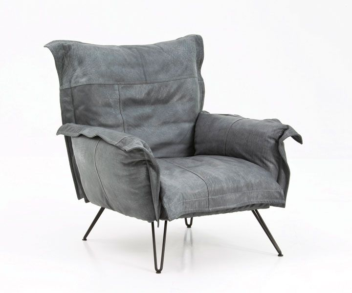 Tv sessel modern  Diesel Collection: grey armchair . minimal design | armchair ...