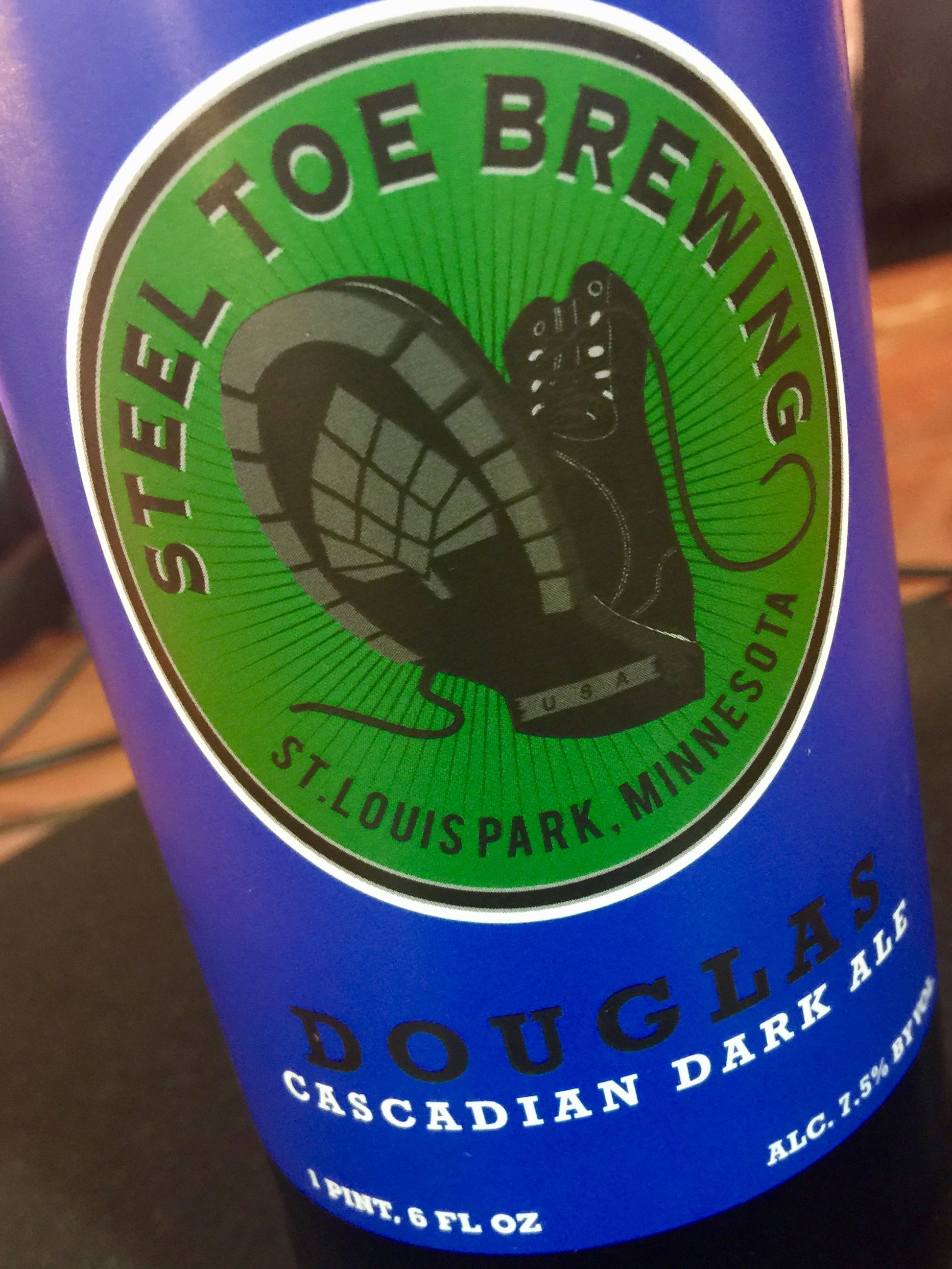 Douglas cascadian dark ale with images brewing ale