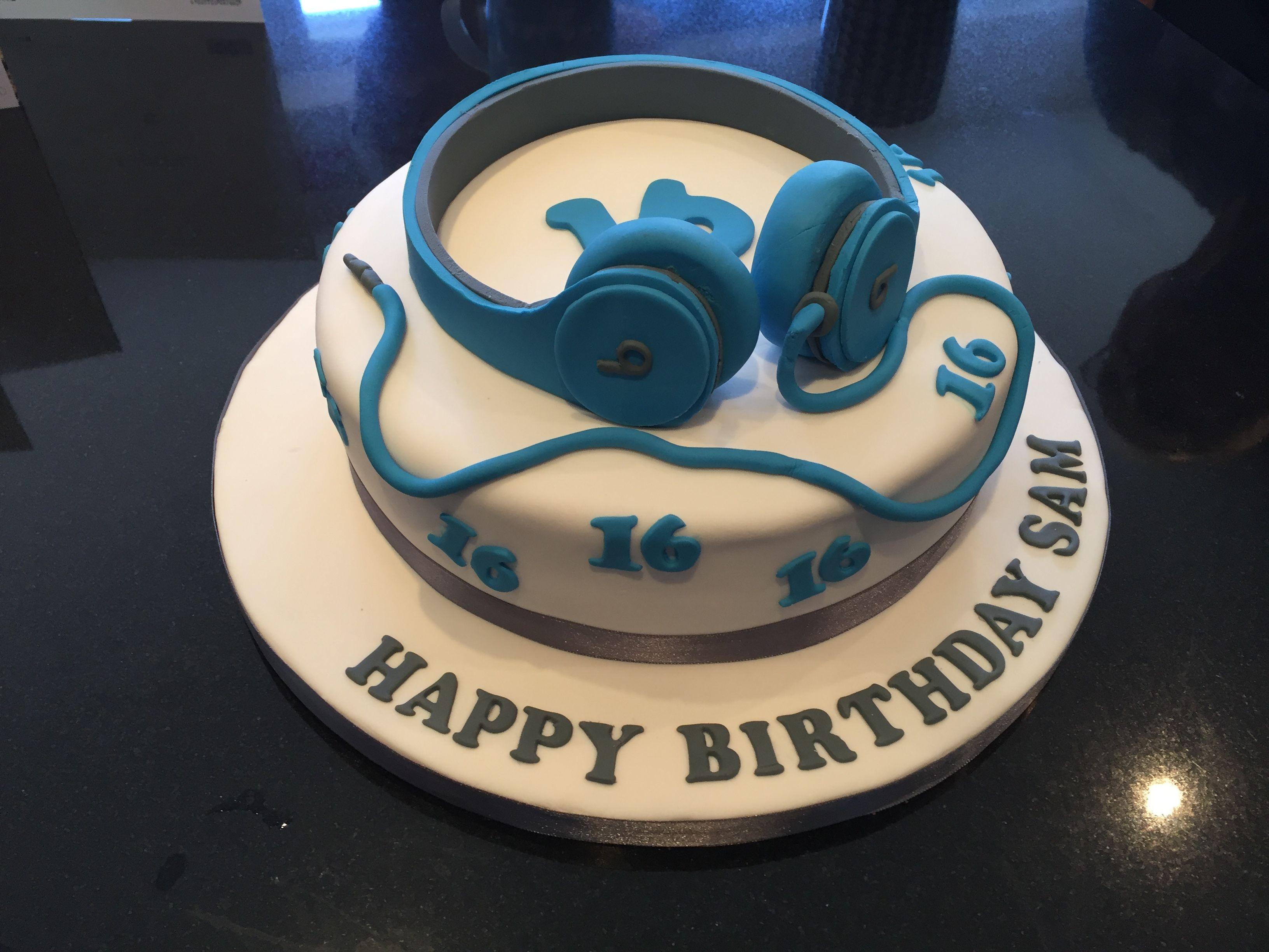 16th Birthday Boy Cake With Images Boy 16th Birthday Cakes 16