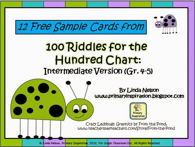 Number Riddles for Spiraled Review Number riddles, Math and - sample cards