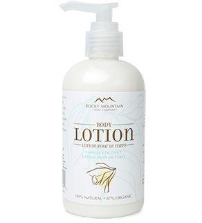 <><><> Whitelisted!  100% CRUELTY FREE! <><><> Vanilla Coconut Body Lotion - Body Lotion - Rocky Mountain Soap