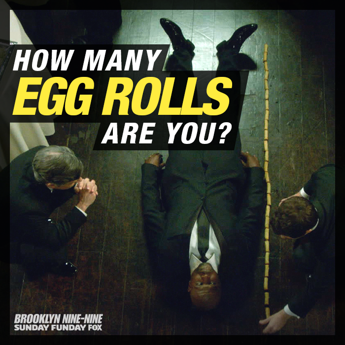 """S2 Ep14 """"The Defense Rests"""" - Probably the most important experiment in Nine-Nine history. #Brooklyn99"""
