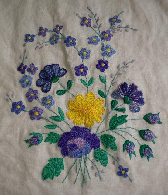 Antique Bouquet Pillow Case by Melody Hazzard, via Flickr
