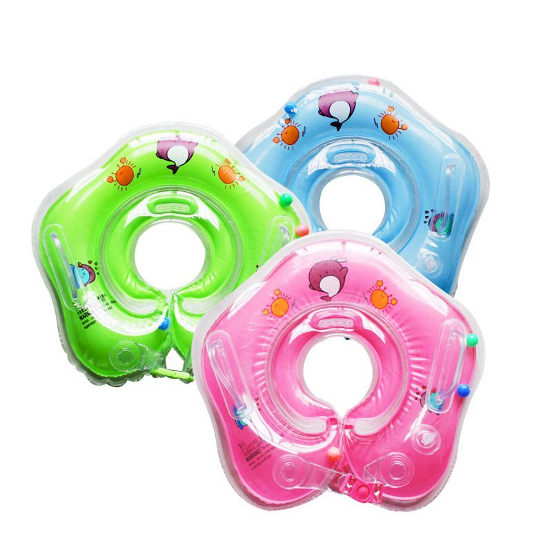 Baby Swimming Adjustable Float Inflatable Ring Safety Kid Bath Aids Circle