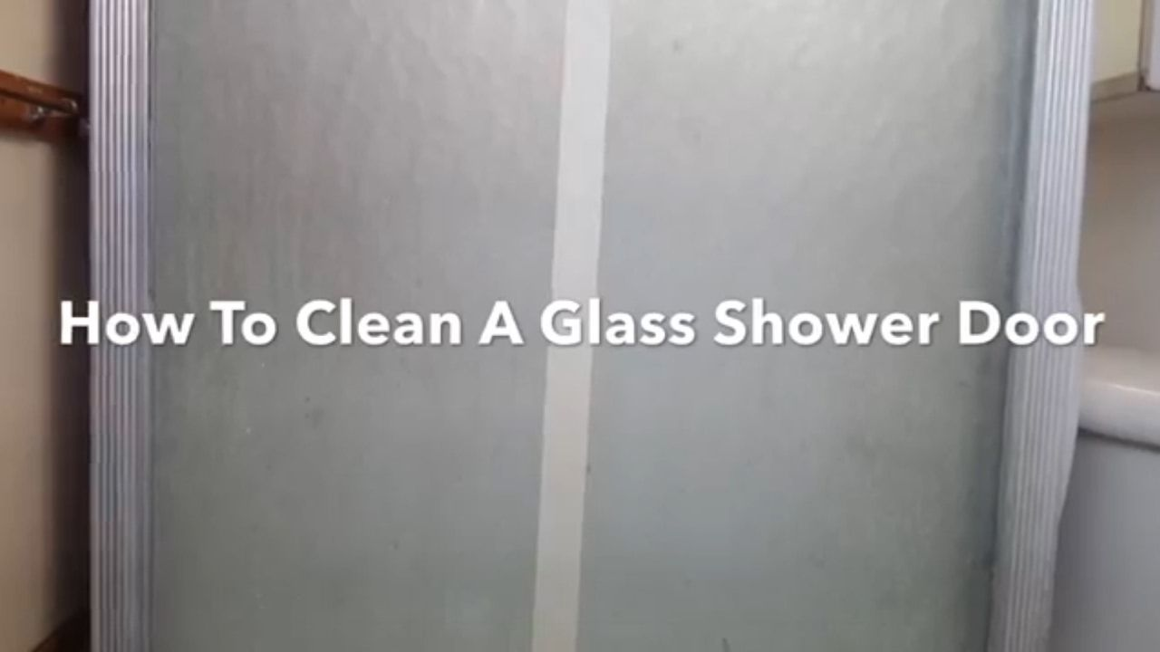 How To Clean A Glass Shower Door With Bar Keepers Friend How To