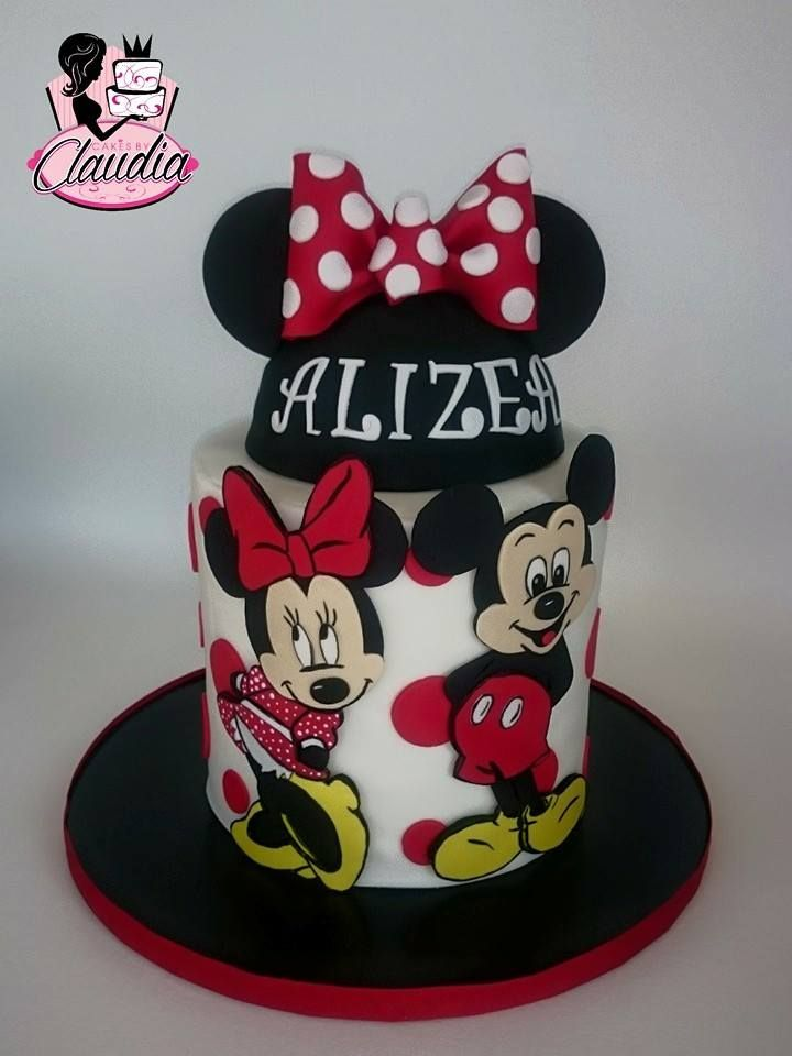 Mickey and minnie cakes by claudia facebook mickey and