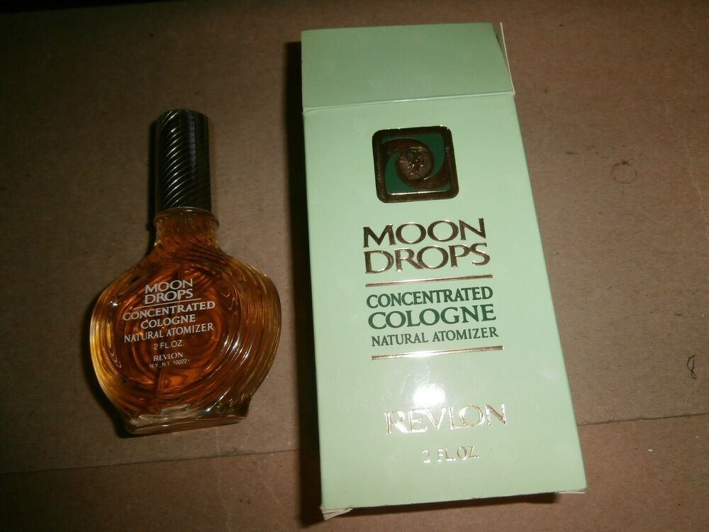 Details About Vintage Revlon Perfumes Moon Drops Concentrated