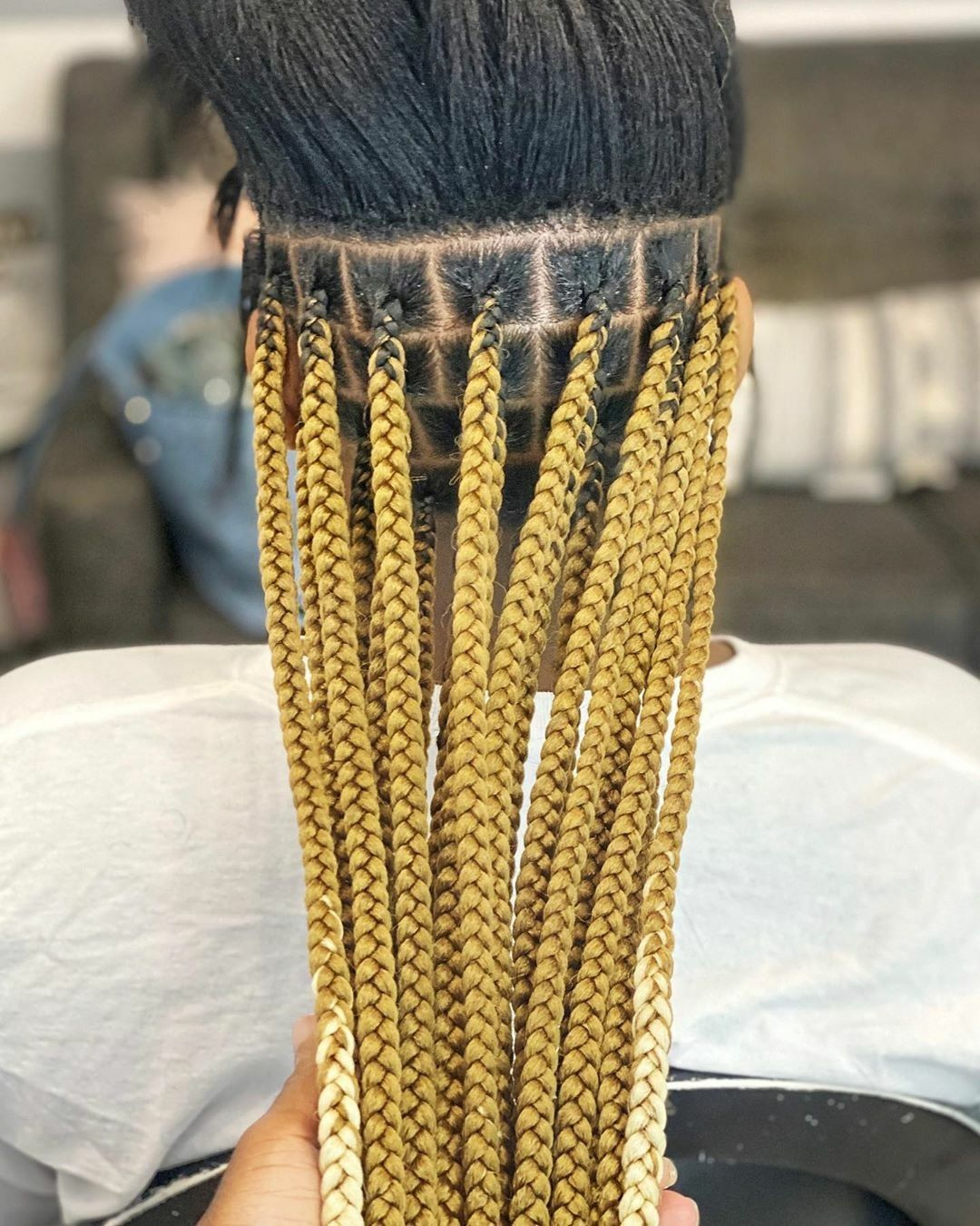 Amazing Braid Hairstyles For 2021 Braided Styles For Black Women In 2020 Box Braids Styling Cool Braids Braid Styles