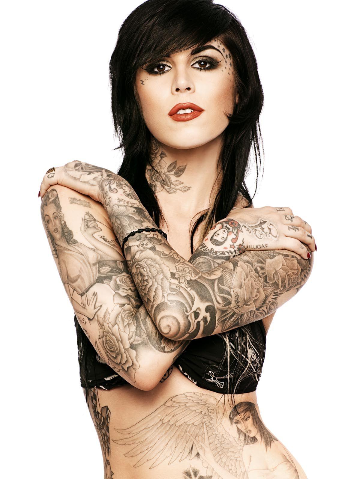 Tattoo Girl Von - Kat von d tattoos