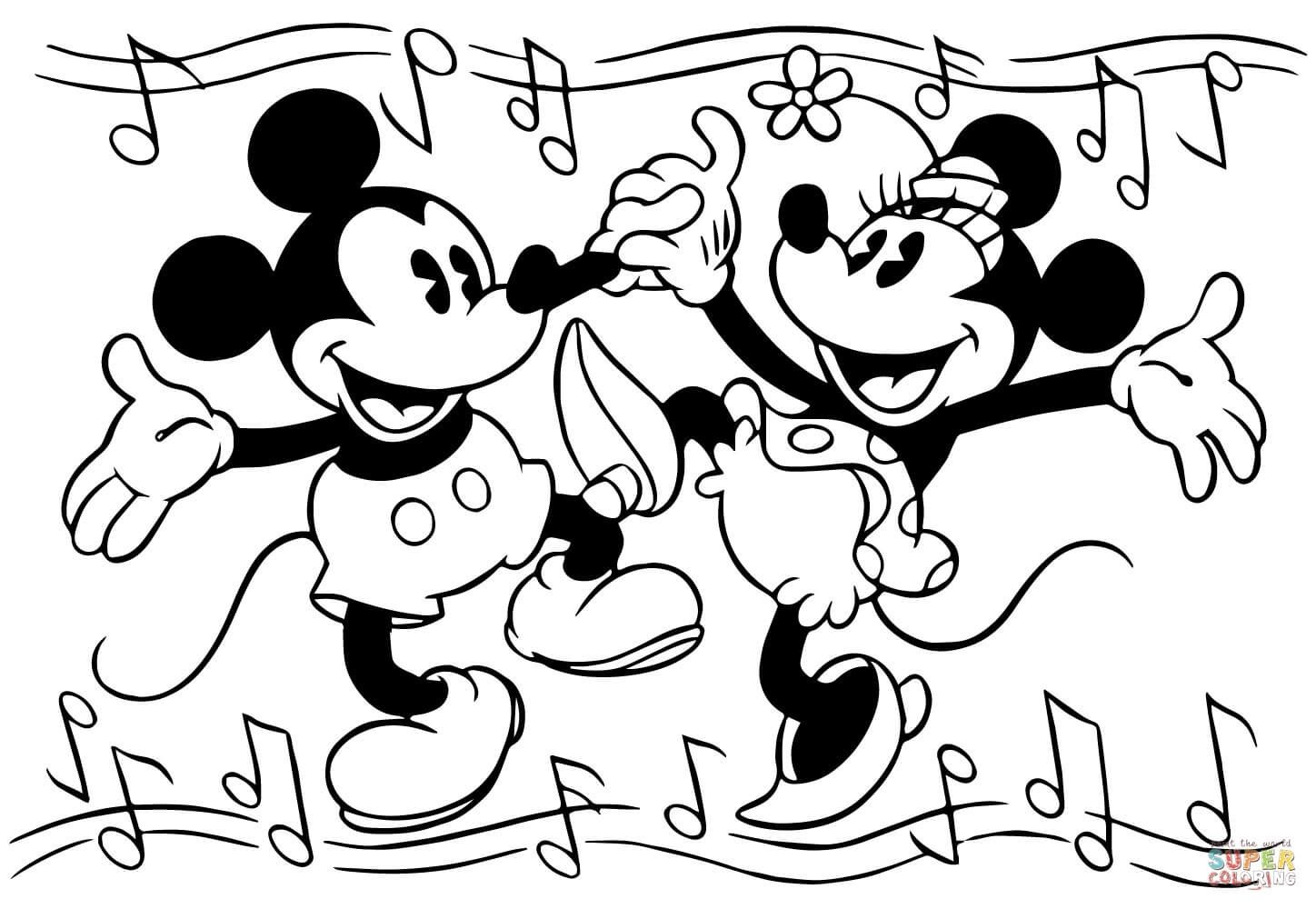 Mickey Mouse Music Coloring Pages Mickey Mouse Music Coloring Pages Mickey Mouse Coloring Pages Minnie Mouse Coloring Pages Mickey Mouse Drawings