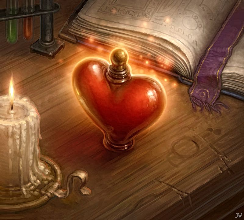 картинки фэнтези сердце лица
