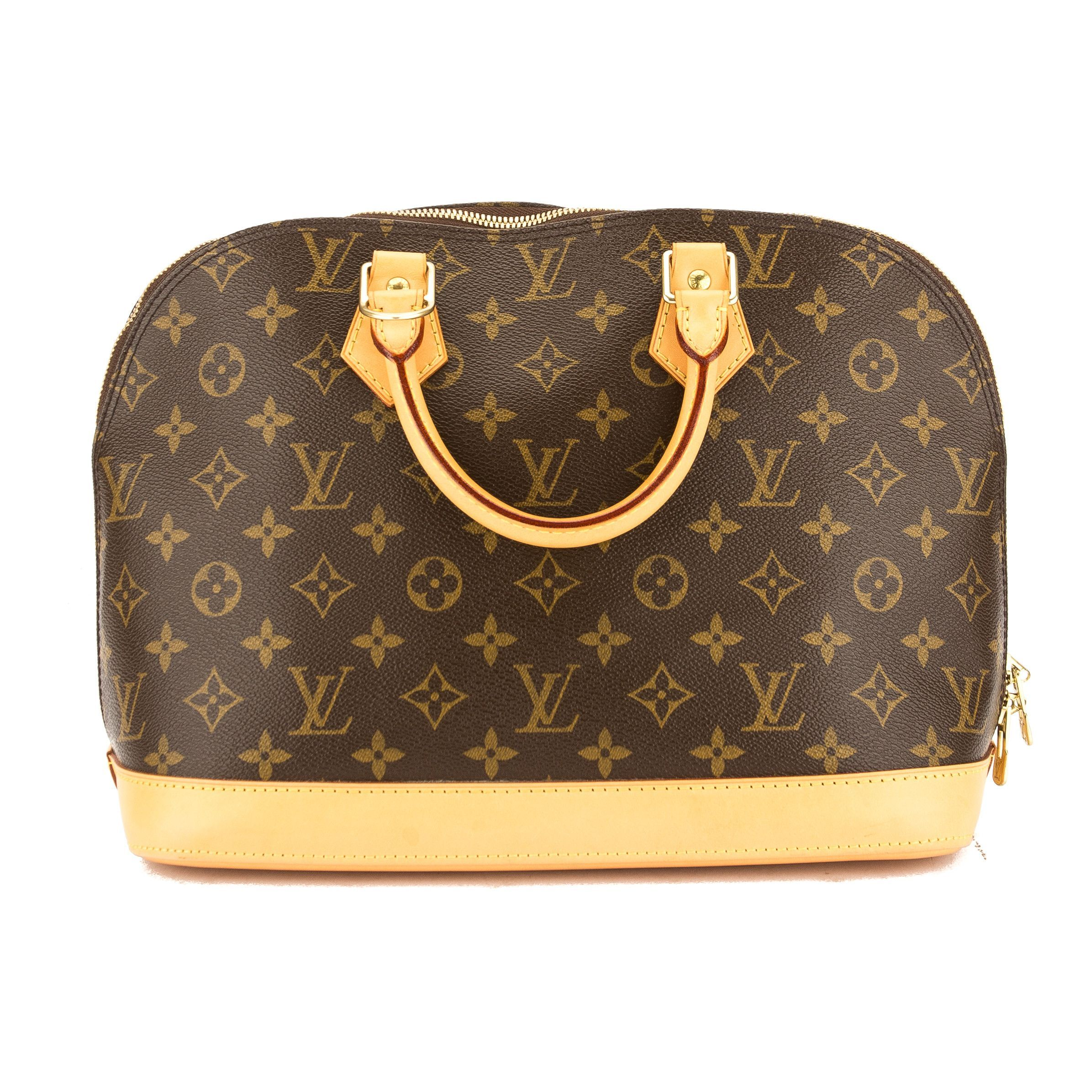 Louis Vuitton Monogram Canvas Alma Bag (Pre Owned)
