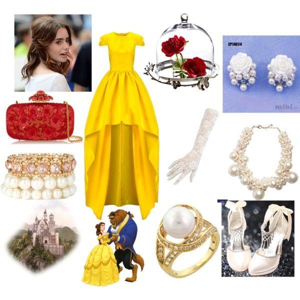 Belle Inspired Prom Dress Disney Princess Dresses Dresses Prom Dresses