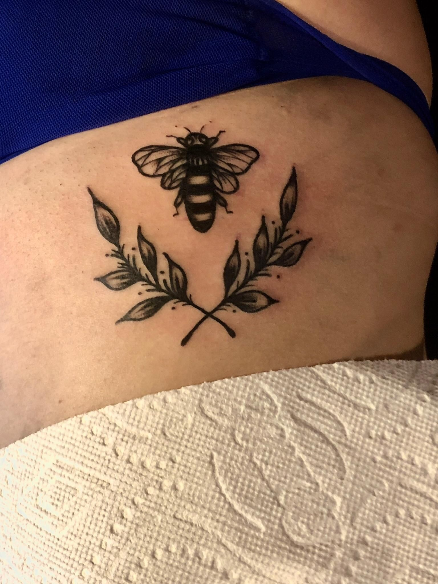A bee for my best friend she helped me through so much