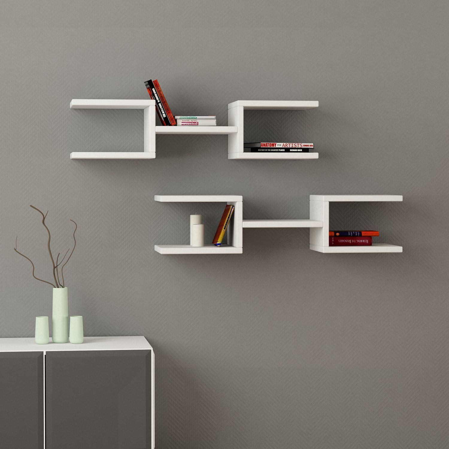 Fancy - Crab Wall Shelves
