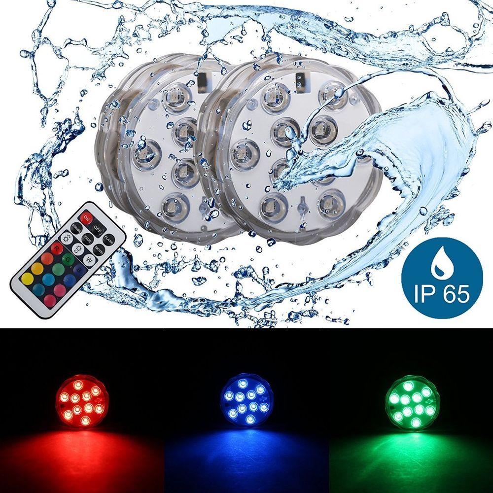 Led Unterwasser Licht Teich Pool Beleuchtung Aquarium Leuchten Wasserdicht Ip65 Unterwasserbeleuchtung Teichbeleuchtung Pool Beleuchtung