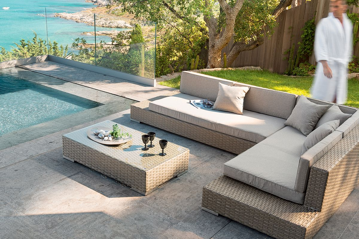 Salon de jardin Ortebello - HESPERIDE.fr | Outdoor sectional ...