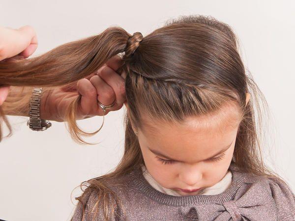 Peinado De Fiesta Para Tu Nina Paso A Paso Fotos In 2018 Hair