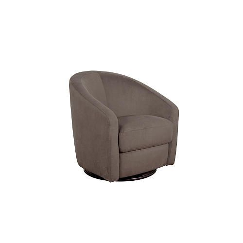 Babyletto Madison Swivel Glider Slate Microsuede