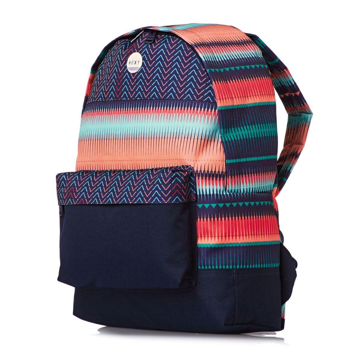 51150ccb128b Roxy Sugar Baby Backpack - 6537 Jagged Stripe Gpf3