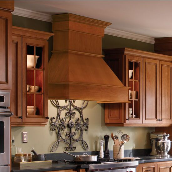 Range Hoods 30inch 36inch 42inch And 48inch Wood Range Hoods With Trimmable Chimneys In 5 Wood Types Wood Range Hood Ceiling Beams Living Room Range Hoods