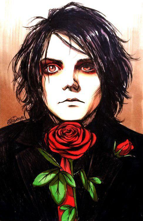 Pin By Red Dessert On Mcr Gerard Way Art My Chemical Romance Emo Art