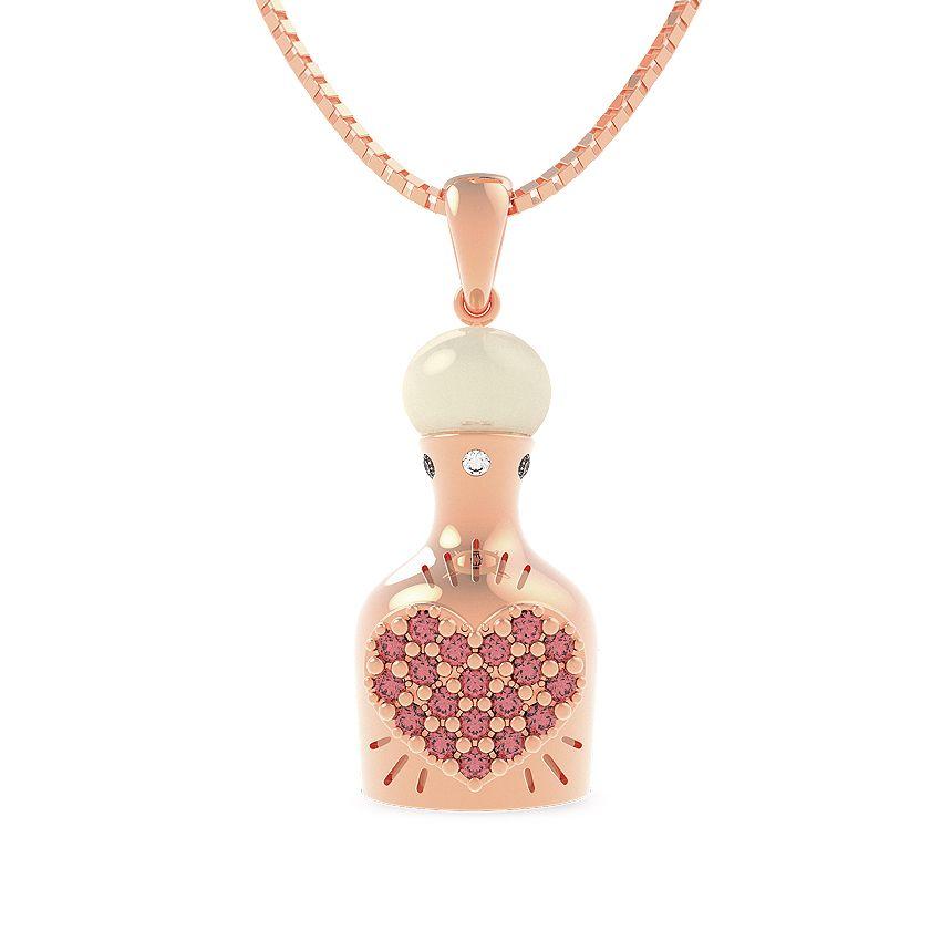 Marina Zardo love necklace #secretjewellery #gold #marinazardo #jewellery #rosegold #love #necklace