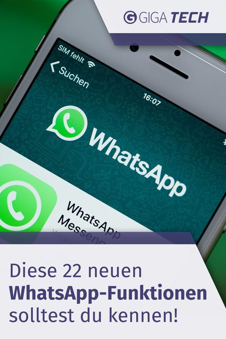 Diese 22 Neuen Whatsapp Funktionen Solltest Du Kennen In 2020 Whatsapp Funktionen Whatsapp Tipps Whatsapp Tricks