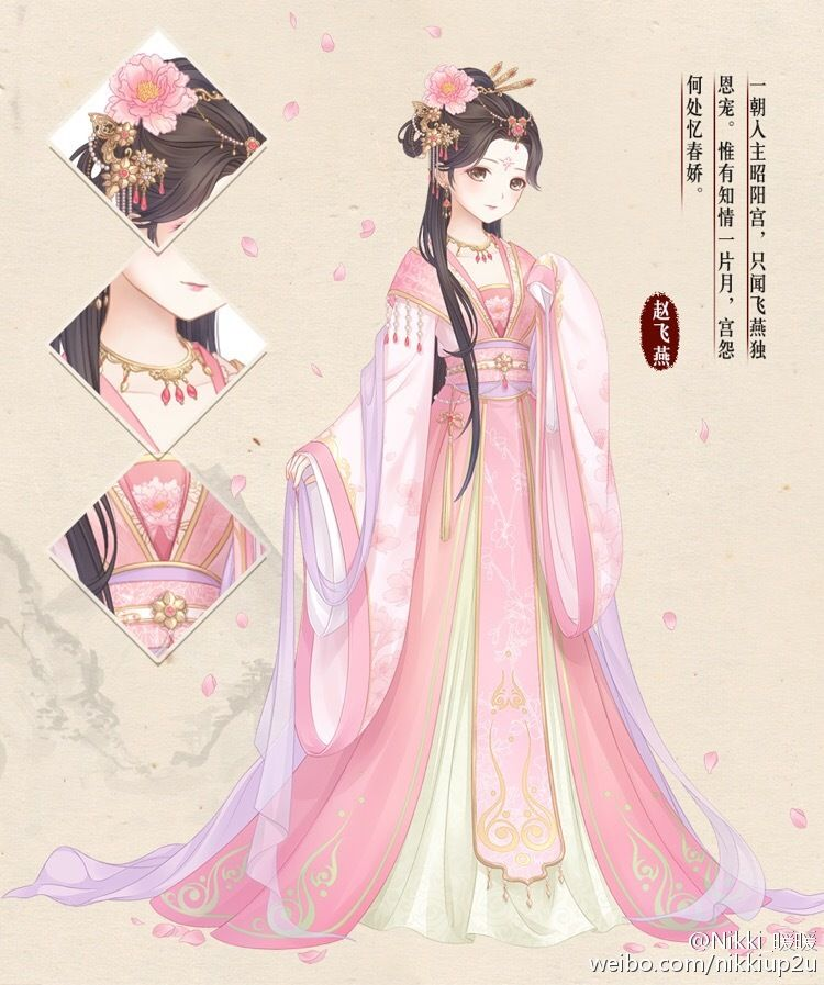 Nikki's Han Chinese Style Anime outfits, Anime dress